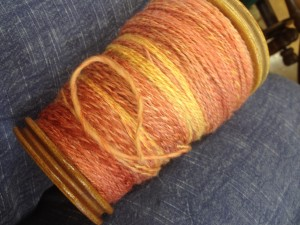 Yvonne's sock yarn - merino, silk and ...?