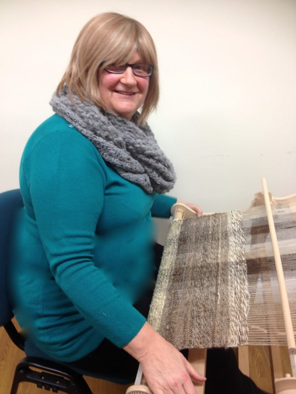 Knitters loom weavers