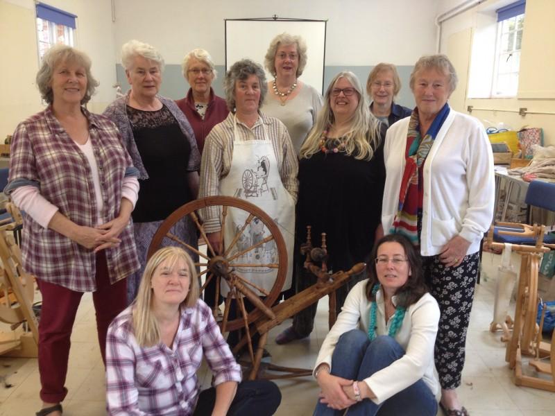 Spinning retreat at knuston hall